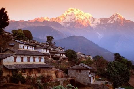 Lassù oltre le nuvole Himalaya