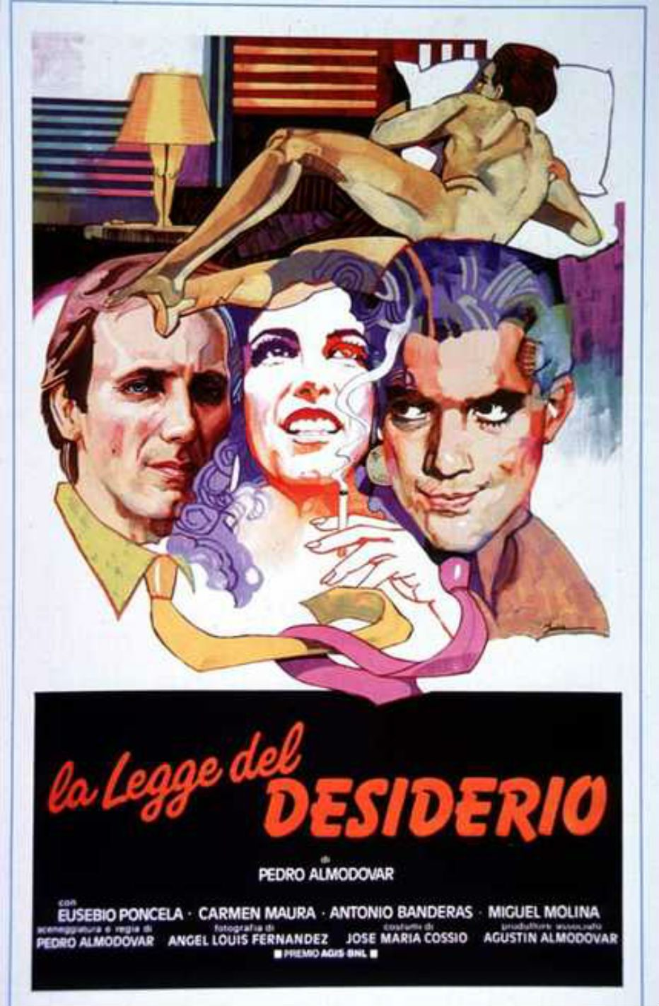 LA LEGGE DEL DESIDERIO – Pedro ALMODOVAR