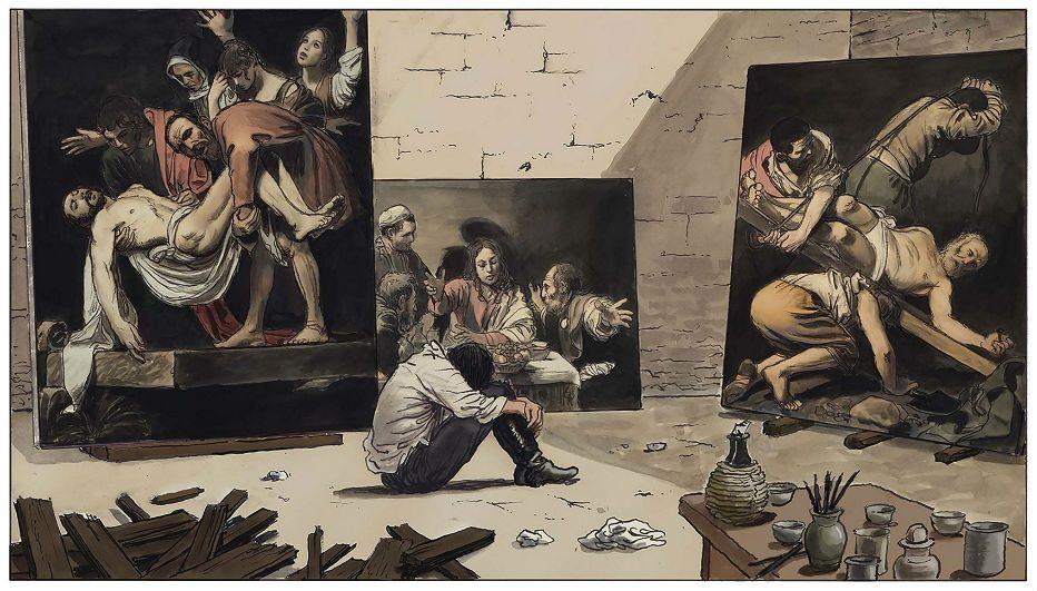 MILO MANARA La vita di Caravaggio